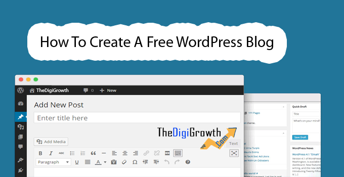 Create A Free WordPress