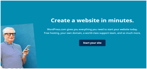 start your WordPress site