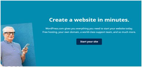 start your WordPress site