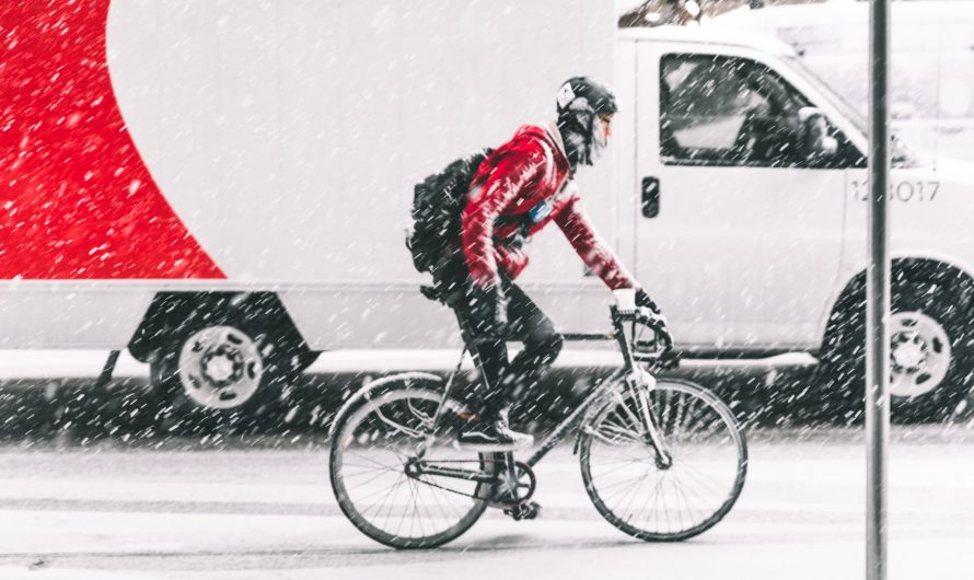 Safety tips for cycling in the winters