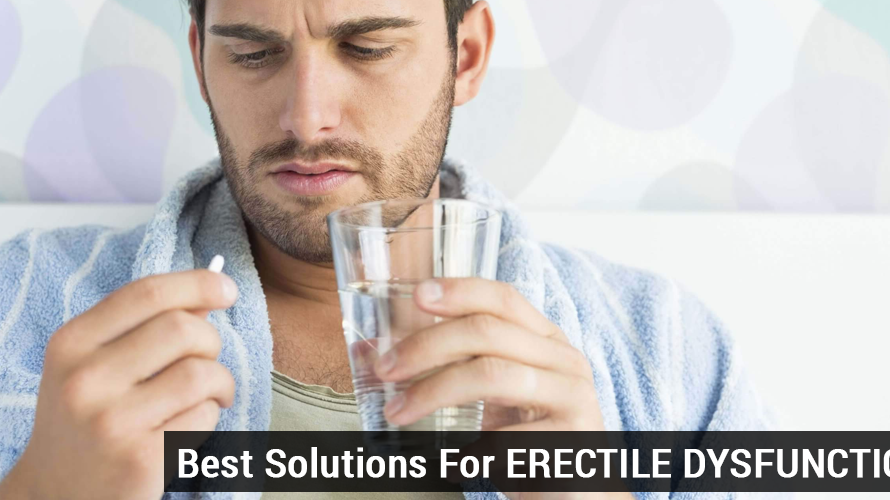One of the Best Solutions for Erectile Dysfunction