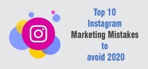 10 Instagram Mistakes