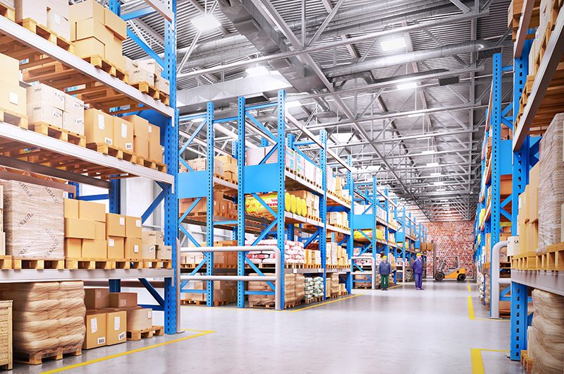 The five components of coordination for a warehouse