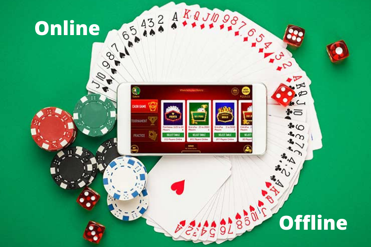 Difference between Online Rummy Vs Offline Rummy
