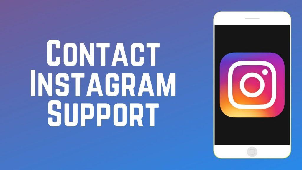 contact Instagram support