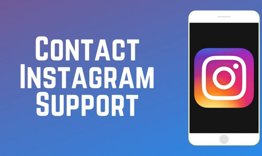 How contact to the support of Instagram?