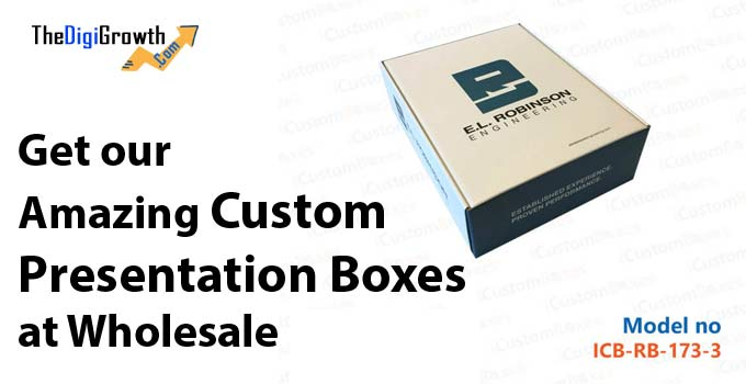Custom Presentation Boxes at Wholesale