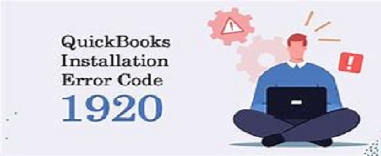 QuickBooks Installation Error Code 1920