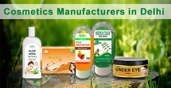 Cosmetics Manufacturers in Delhi
