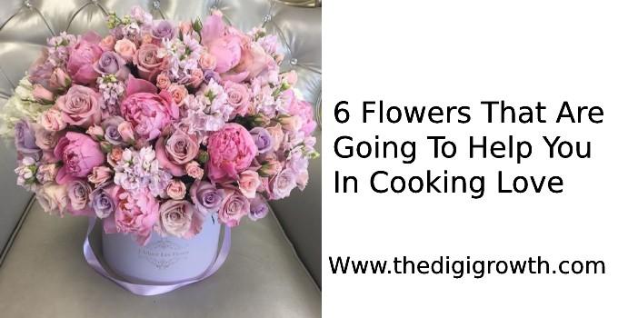 six awesome flowers