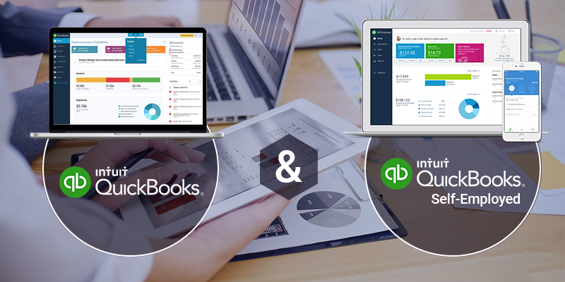 Difference Between QuickBooks Online And QuickBooks Self-Employed