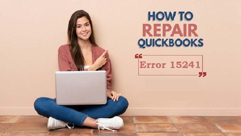 QuickBooks error code 15241