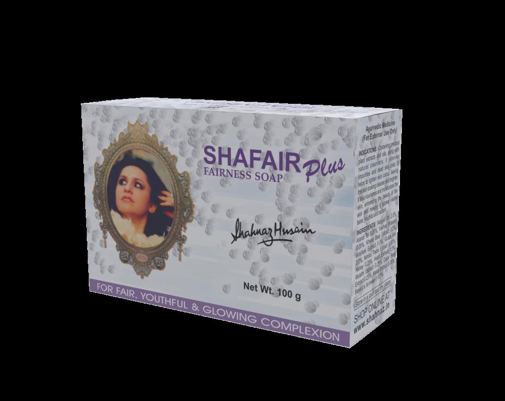 Shafair Plus Ayurvedic Fairness Soap – 100 Gm